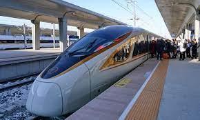 China Unveils World's Fastest Train Maglev Train