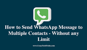 How To Send WhatsApp Message To Multiple People in 2021